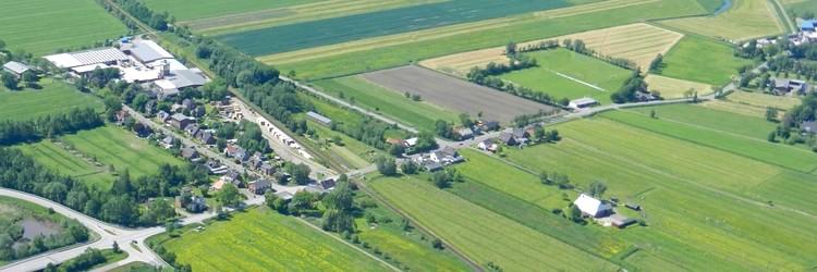 Luftbild Flethseer Strasse/ Am Bahnhof